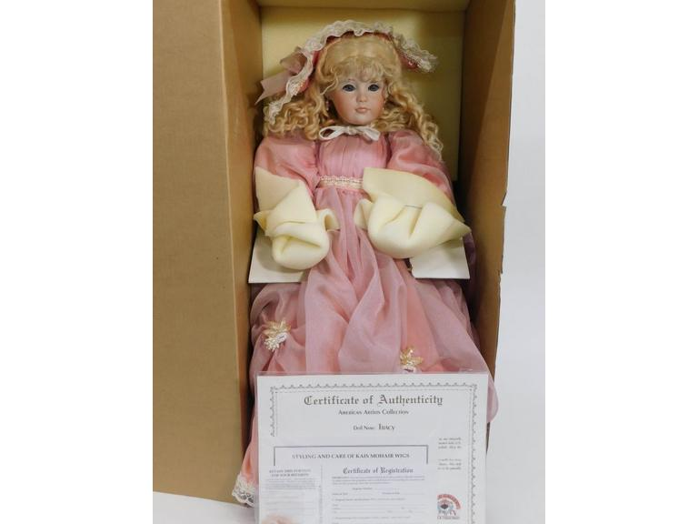 Limited Edition World Galleries Doll