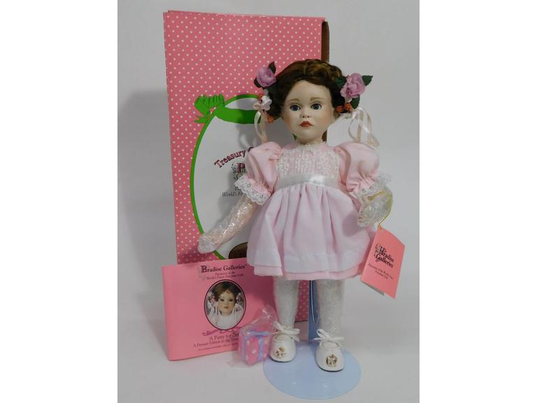"Paradise Galleries 14"" Porcelain Doll"
