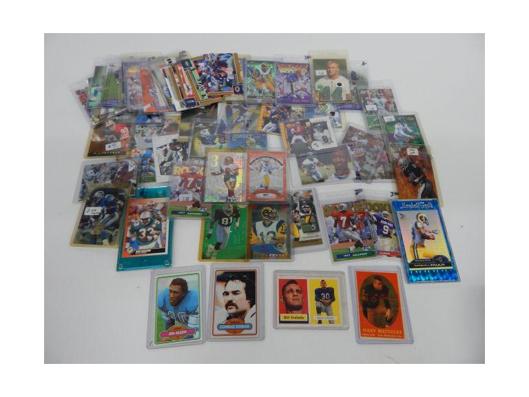 Collection of Football Trading Cards