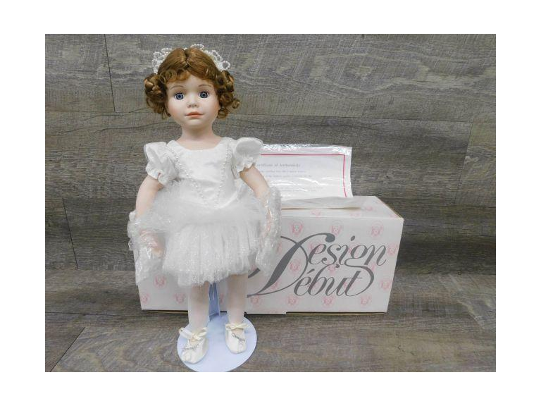 Limited Edition Design Debut Doll