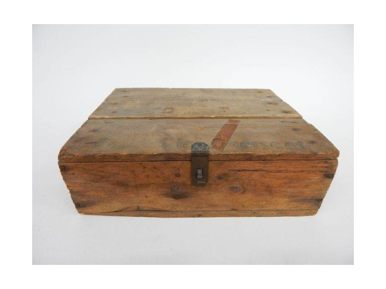 Primitive Wooden  Box