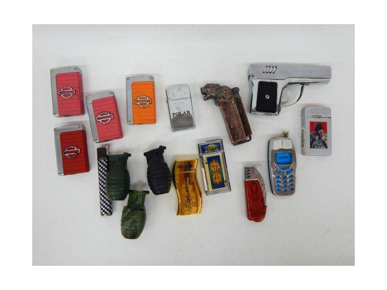 Collection of Butane Lighters
