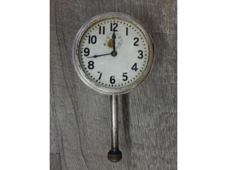"Antique Model ""A"" Mechanical Car Clock"