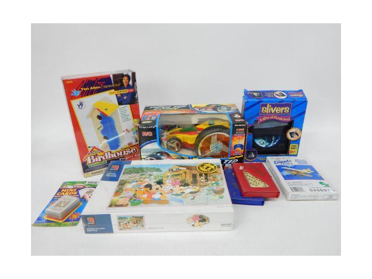 Collection of Toys, Games & Puzzles