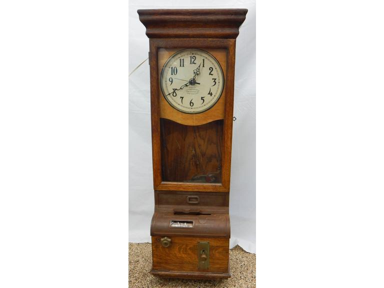 Antique Time Recorder Time Clock