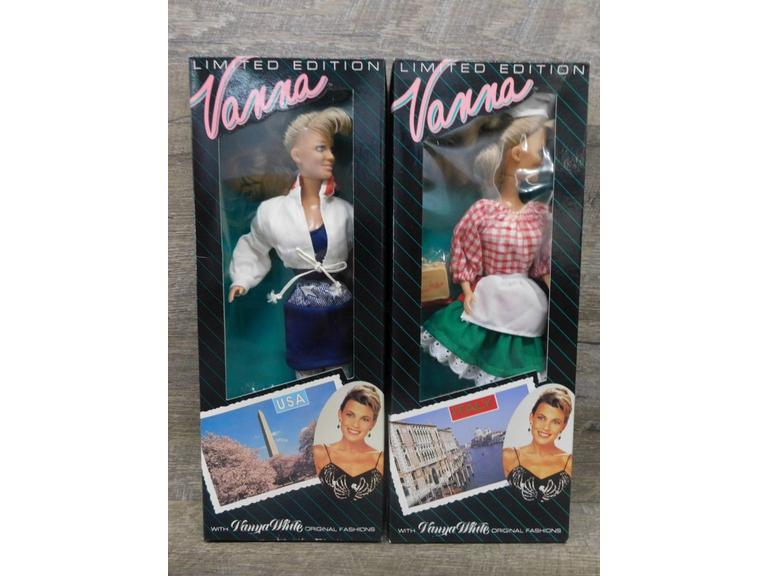 Limited Edition Vanna White Dolls