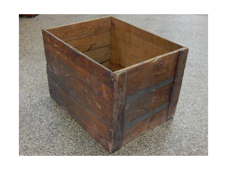 Large Wooden Shipping Crate