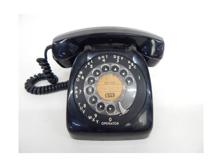 Automatic Electric Rotary Dial Phone