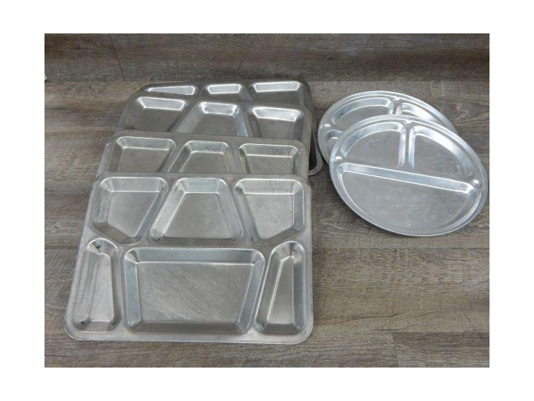 Collection of Industrial Lunch Trays