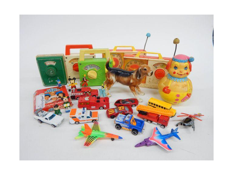 Collection of Old and Vintage toys