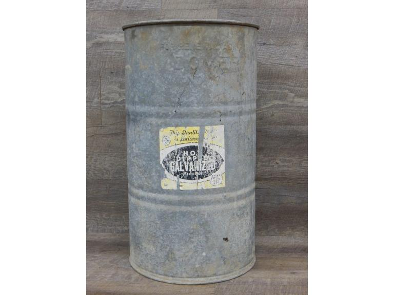 Large size Tall Galvanized Bucket