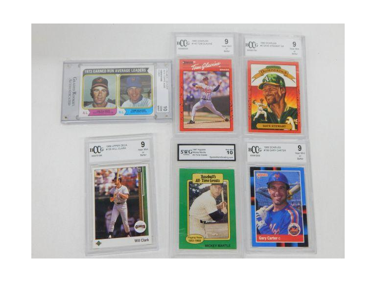 Collection of Graded Baseball Cards
