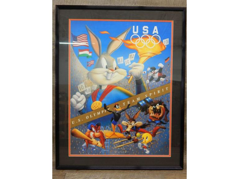 Looney Tunes Olympic Poster