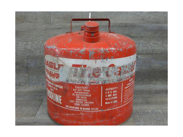 Eagle 5 Gallon Steel Gas Can