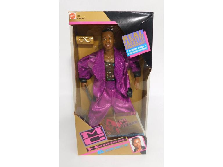 1991 MC Hammer Doll + Cassette!