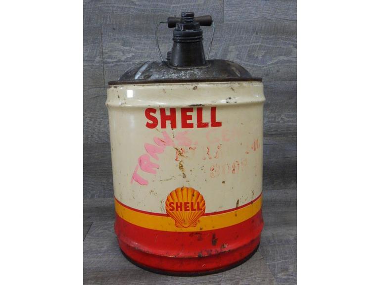 Shell Motor Oil 5 Gallon Can