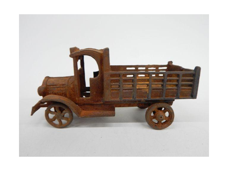Old Cast Iron Toy Truck