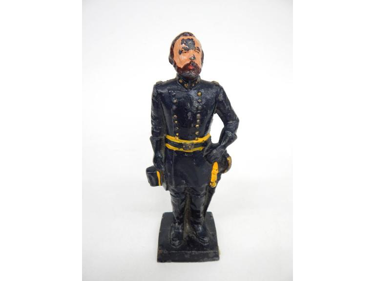 Cast Iron Soldier Statue or Door Stop