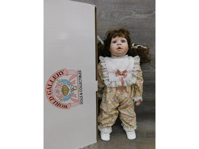Limited Edition World Gallery Doll