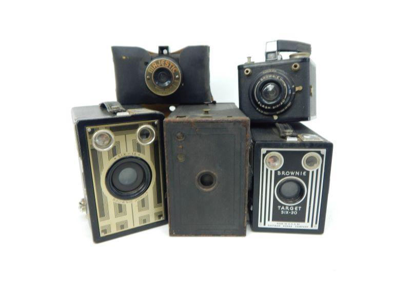 Collection of Old & Antique Cameras