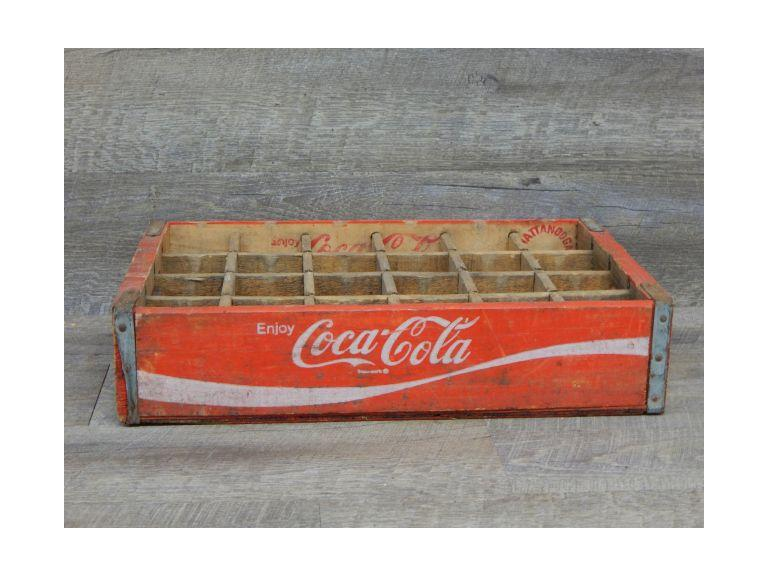 Wooden Slotted Coca Cola Shipping Crate