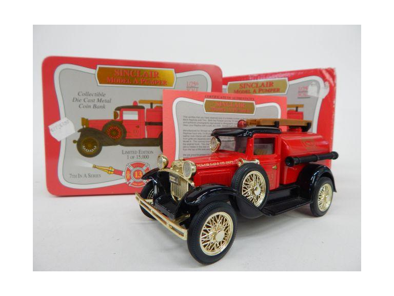 LE Sinclair Model A Pumper Coin Bank