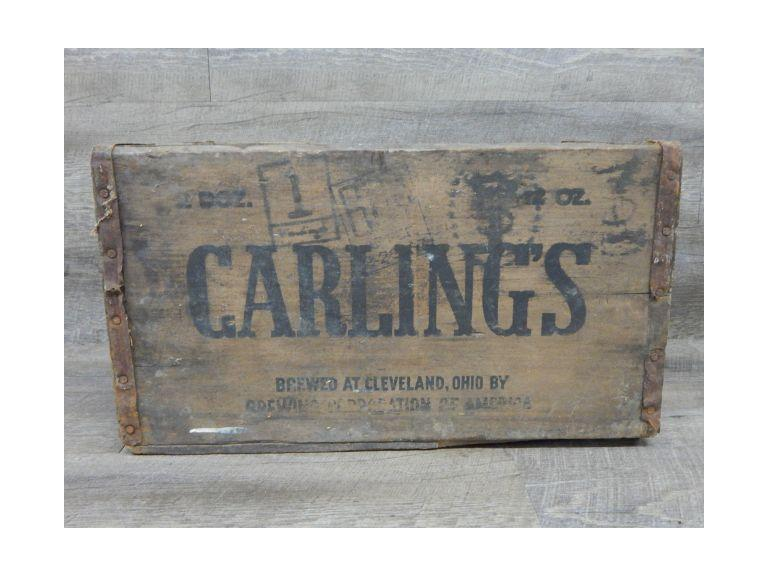Old Carling's Beer Shipping Crate
