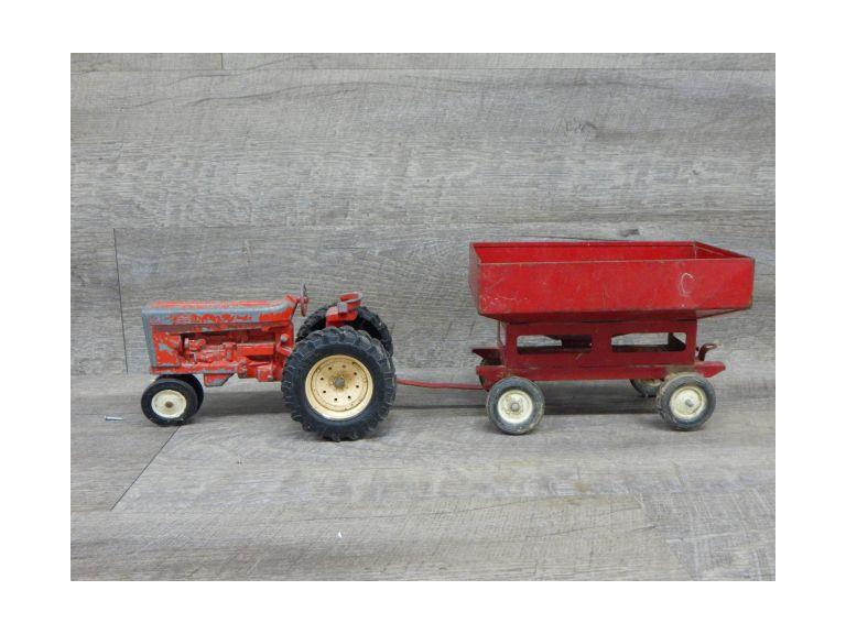 Ertl Farm Tractor and Grain Trailer