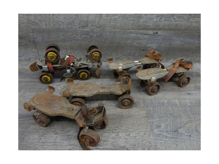 Collection of Steel Roller Skates