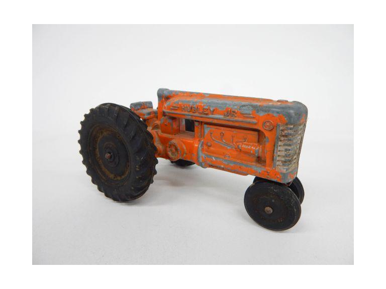 Hubley Jr Die Cast Toy Tractor