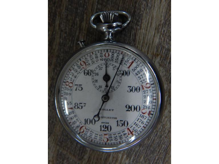 Mechanical Gallet Stopwatch