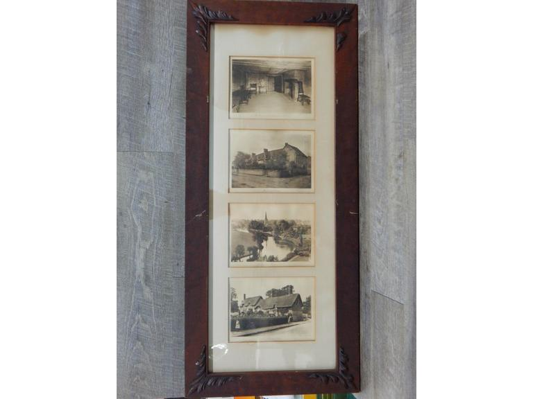 Antique Framed Famous Places Images