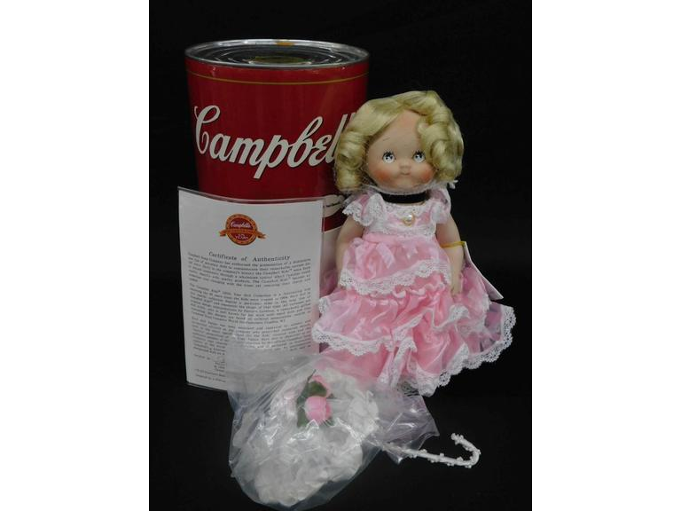 Campbell's Soup 125th Year Collector's Doll