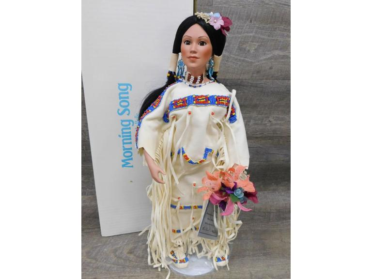 Danbury Mint Native American Doll