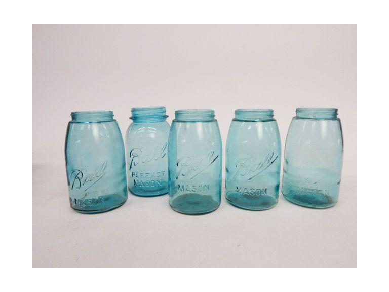 Vintage and Antique Canning Jars