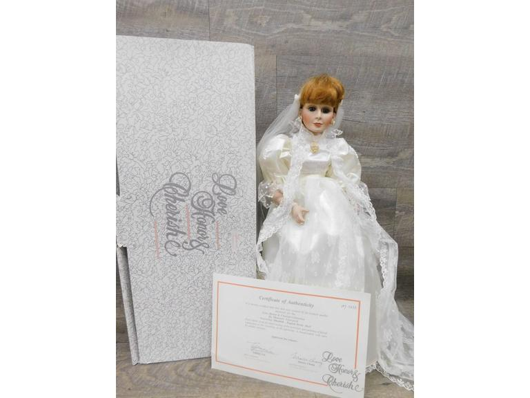 Love, Honor, Cherish Porcelain Doll
