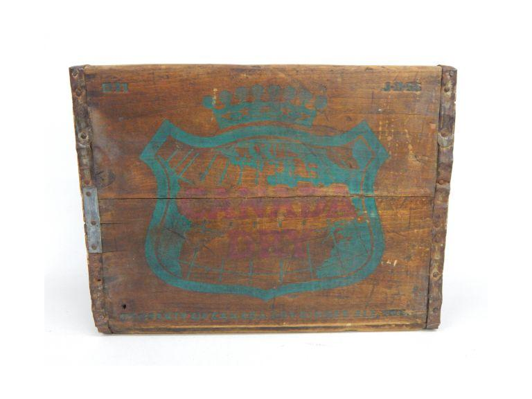 Canada Dry Wooden Shipping Crate