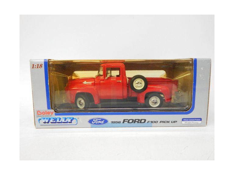 1:18 Scale Classic Die-Cast Ford Truck Model