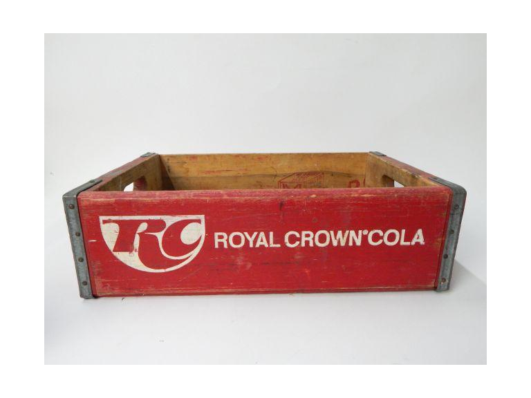 Royal Crown Cola Wooden Shipping Crate