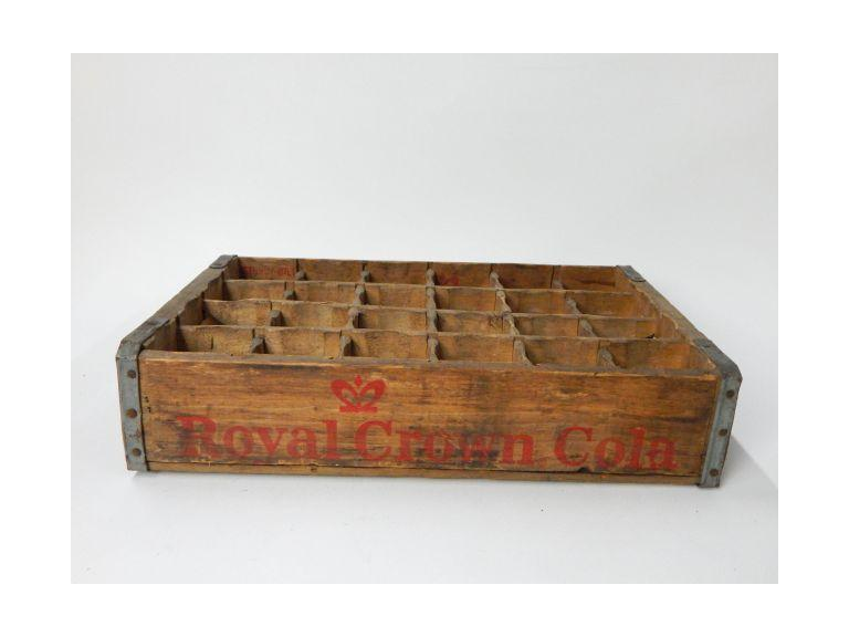 RC Cola Wooden Shipping Crate