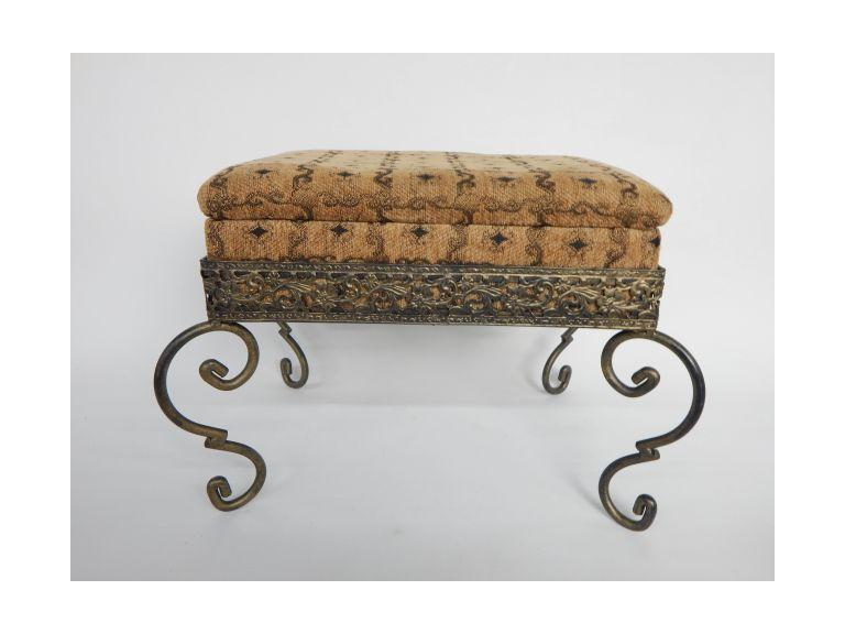 Decorative Foot Stool with Storage