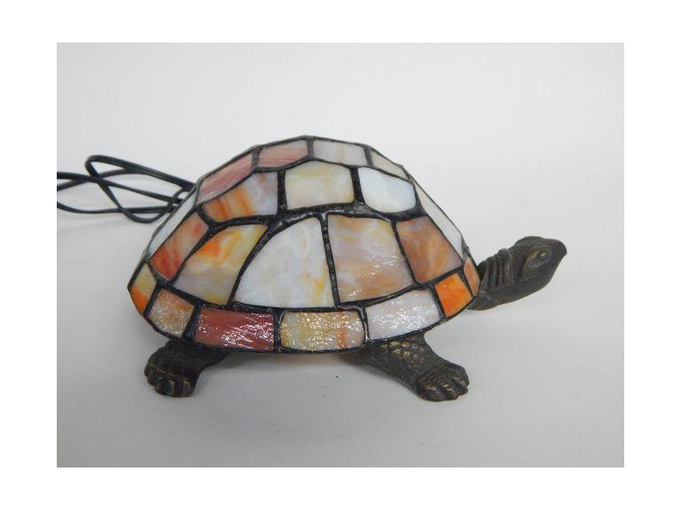 Small Stained Glass Turtle Light
