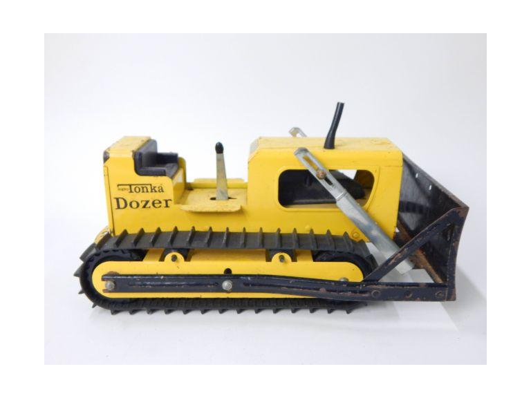 Tonka Pressed Steel Toy  Dozer