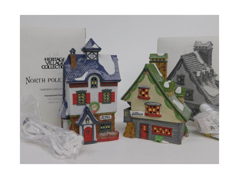 Dept. 56 North Pole Series Pieces