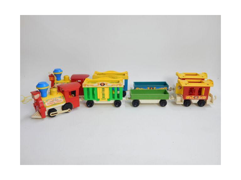 Fisher Price Toy Circus Trains