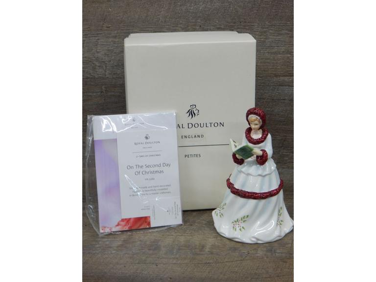 Royal Doulton Second Day of Christmas Figurine