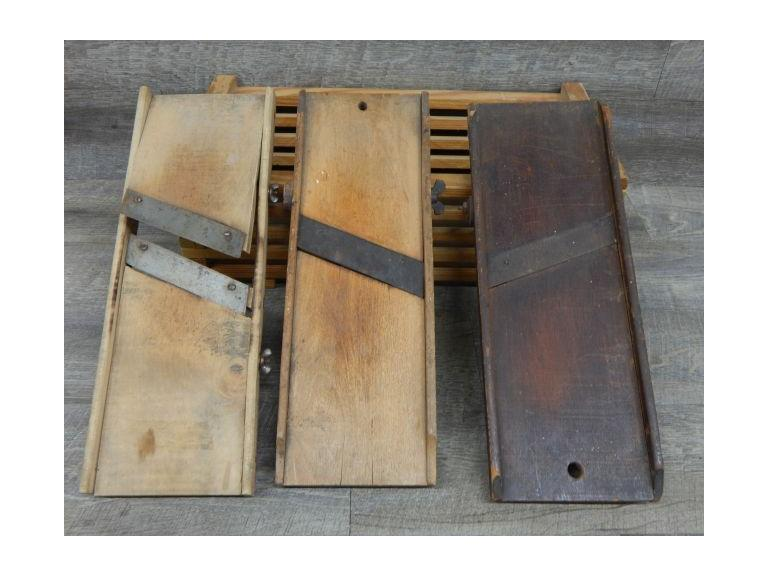 Collection of Primitive Food Slicing Boards