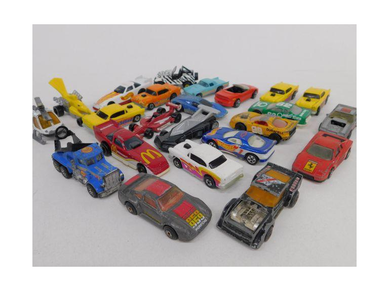 Hot Wheels and Matchbox Diecast Vehicle Lot