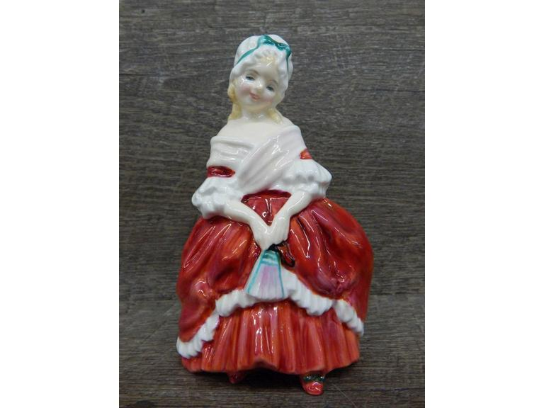 "Royal Doulton 1940 ""Peggy"" Figurine"