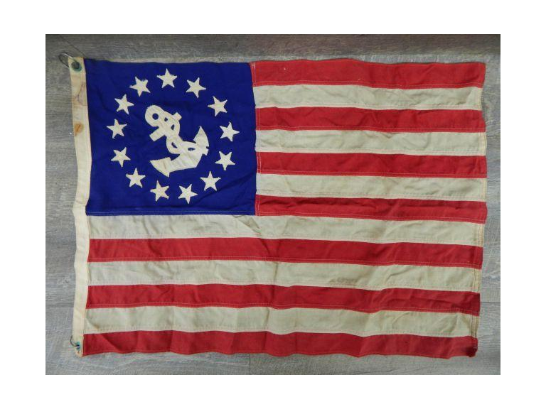 Vintage US Nautical Flag